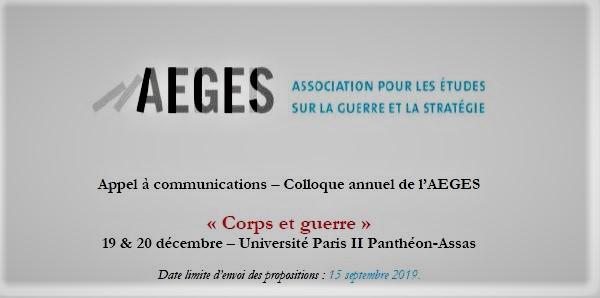 Assas Calendrier Universitaire.Colloque Annuel De L Aeges 2019 Appel A Communications Aeges